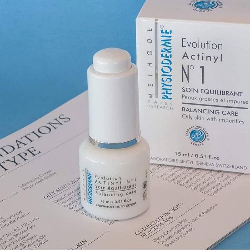 Serum đặc trị mụn bọc - mụn nội tiết - mụn nhú sần Actinyl No.1 Physiodermie