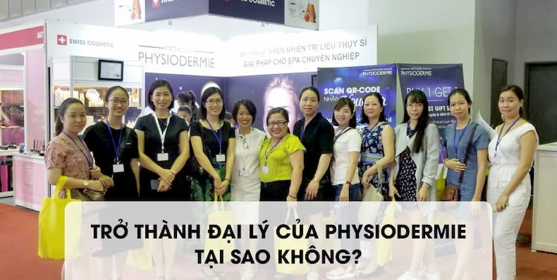 Cách Spa/TMV trở thành đại lý của Methode Physiodermie