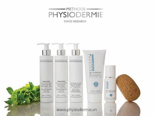 Mỹ phẩm dành cho spa thành phần thiên nhiên trị liệu Methode Physiodermie
