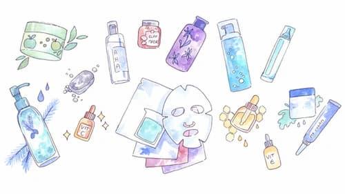 Các cô gái cần lựa chọn cẩn thận các sản phẩm chăm sóc da đặc biệt là mặt nạ ngủ