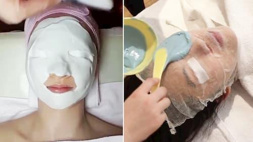 """Rubber mask – mặt nạ cao su vô cùng """"hot"""" tại Hàn Quốc! (Nguồn: Allure)"""