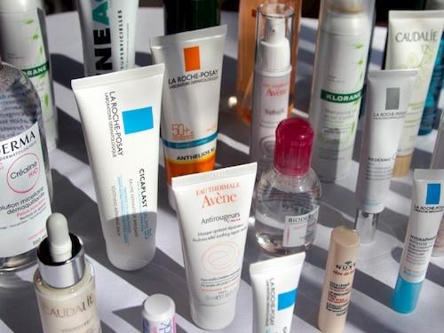 Dược mỹ phẩm đa dạng từ sản phẩm make up, chăm sóc da đến đặc trị