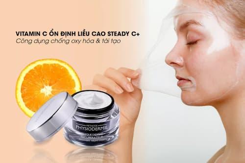 Mặt nạ ngủ trắng da Recovery Night Mask chứa vitamin C ổn định liều cao