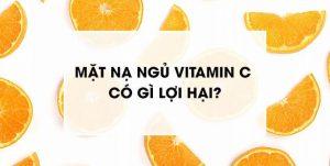 mat na ngu vitamin c - Anh bia