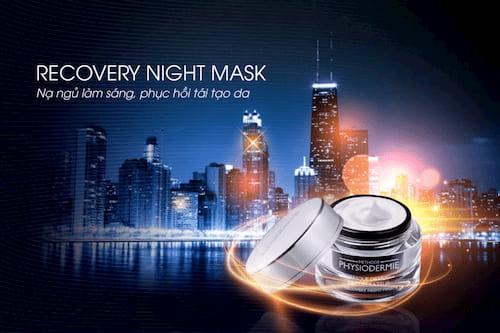 Mặt nạ ngủ Recovery Night Mask kéo dài tuổi thanh xuân