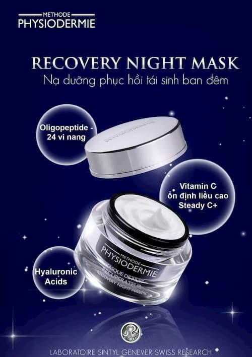 Mặt nạ ngủ tái tạo da Recovery Night Mask