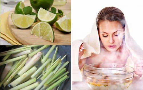 Xông mặt thải độc da là cách thải độc da mặt qua tuyến mồ hôi