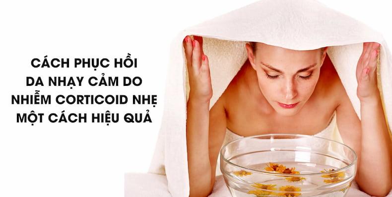 Cách xông hơi thải độc da mặt đúng chuẩn, mang lại hiệu quả