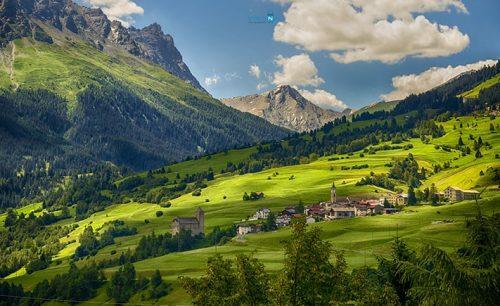 Thụy Sĩ là đất nước có khí hậu trong lành và thảm thực vật trù phú bậc nhất thế giới (Nguồn internet)