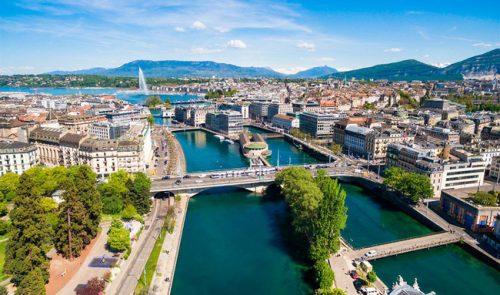 """Thành phố mệnh danh là """"Trái tim của châu Âu"""" - Geneva (Nguồn Internet)"""