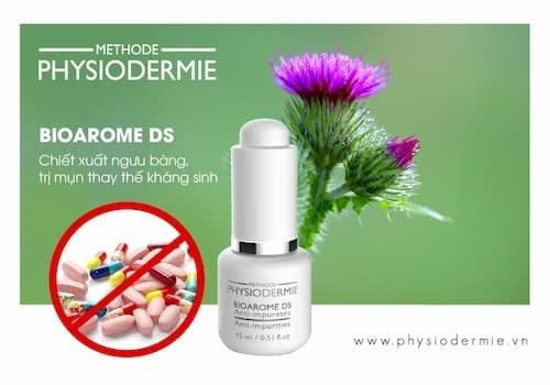 Serum DS được chiết xuất chính từ tinh dầu ngưu bàng giúp thải độc tốt