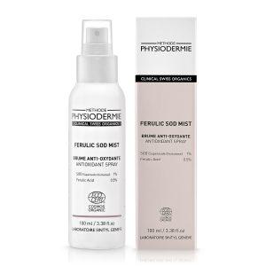 Xịt khoáng Ferulic SOD bảo vệ da, chống ánh sáng xanh (Organic)