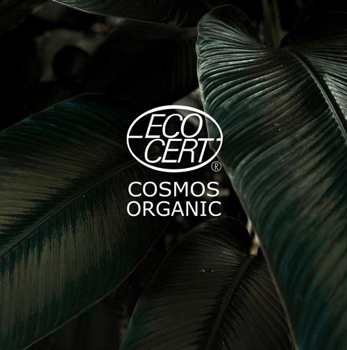 Logo chứng nhận ECOCERT COSMOS ORGANIC cho mỹ phẩm hữu cơ