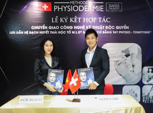 Physiodermie tự hào là đối tác của NOB BEAUTÉ Spa