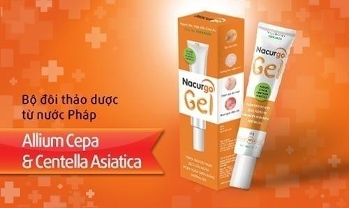 Thuốc bôi trị viêm lỗ chân lông Nacurgo Gel