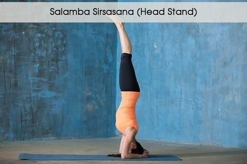 Tư thế đứng bằng đầu - Salamba Sirsasana