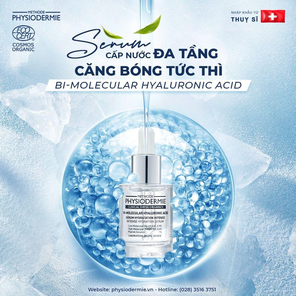 Serum cấp nước đa tầng Bi-molecular Hyaluronic Acid Bioserum
