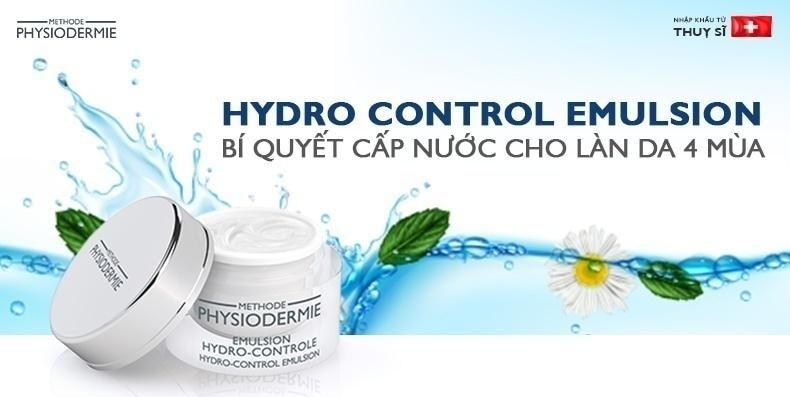 Hydro Control Emulsion – Bí quyết cấp nước 4 mùa cho làn da