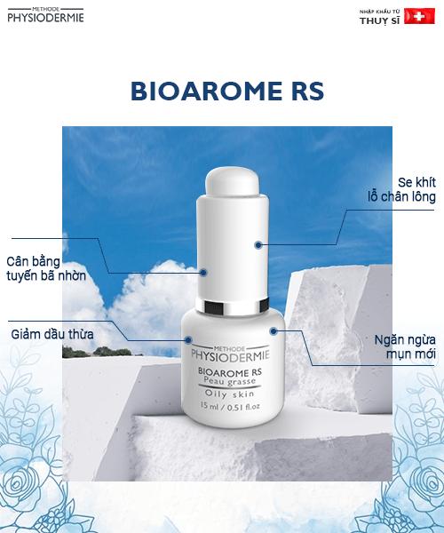 Bioarome RS - Bí quyết giảm dầu nhờn cho da dầu mụn