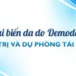 Tai biến da do Demodex – Điều trị & dự phòng tái phát