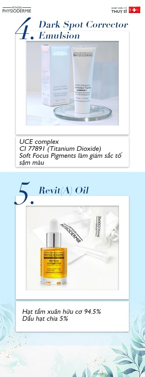 Các sản phẩm điều trị tăng sắc tố da
